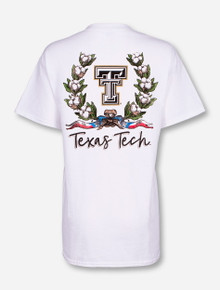 "Texas Tech Red Raiders ""Cotton Wreath"" T-Shirt"