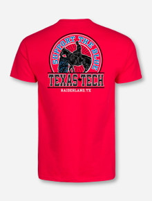 Texas Tech Iowa State Gameday T-Shirt - Sale Benefits the 100K Family Fund Goal (PRE-ORDER ARRIVES 10/17)