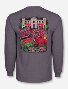 """Texas Tech Red Raiders """"It's Game Day Y'all"""" Long Sleeve"""