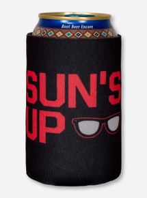 Sun's Up, Gun's Up! Black Koozie - Texas Tech
