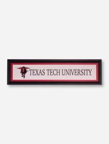 Texas Tech University Midnight Rider Framed Wall Art