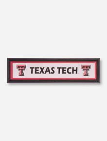Texas Tech Double T Framed Wall Art
