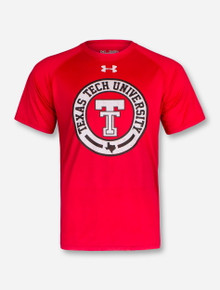 """Under Armour 2017 Texas Tech Red Raiders """"Vintage Branded"""" T-Shirt"""