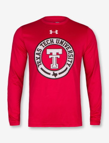 """Under Armour 2017 Texas Tech Red Raiders """"Vintage Branded"""" Long Sleeve"""