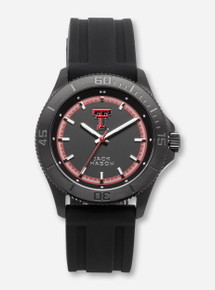 Jack Mason Texas Tech Blackout Men's Black Watch