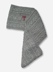 """47 Brand Texas Tech """"Kiowa"""" Grey & Silver Infinity Scarf"""