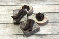 Cowboy Leather Handcrafted Soap