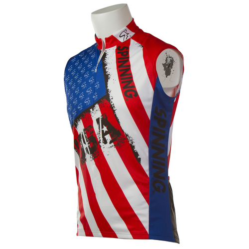 Sleeveless Spirit of USA Jersey
