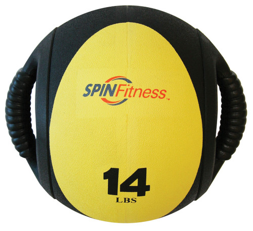 SPIN Fitness® Dual Grip Medicine Ball 14lb