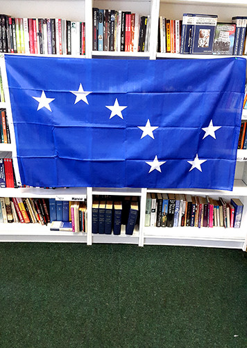 STARRY PLOUGH (BLUE) FLAG