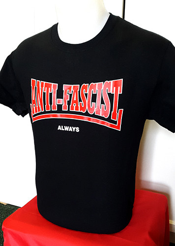 Anti-Fascist Always T-shirt