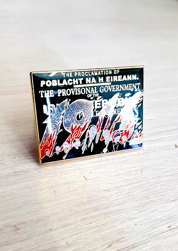 1916 Easter Rising enamel badge