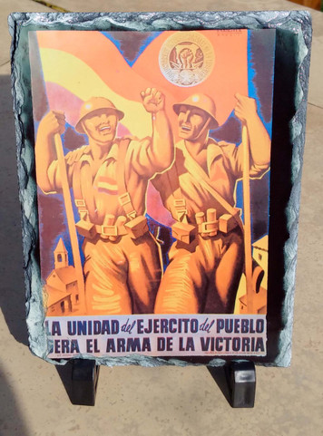 International Brigade Volunteers slate