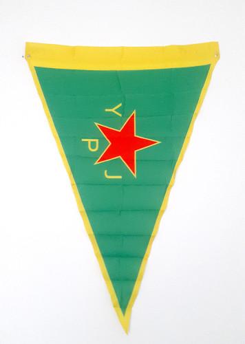 Kurdish YPJ Flag