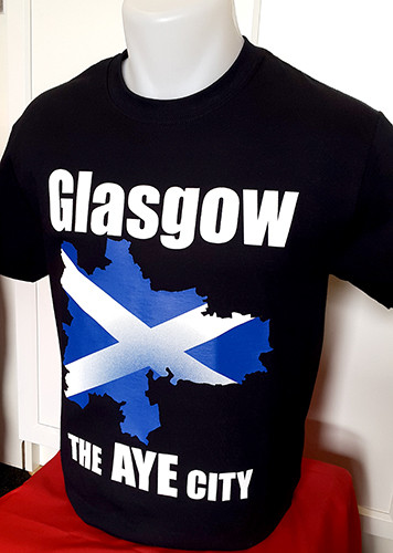 "Glasgow ""The Aye City"" t-shirt"