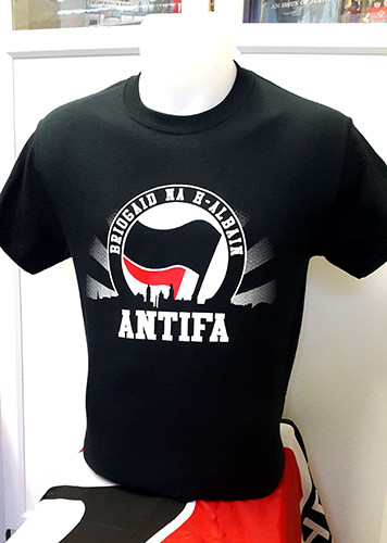 ANTIFA - Briogaid Na H-Albain (Scottish Brigade) T-shirt
