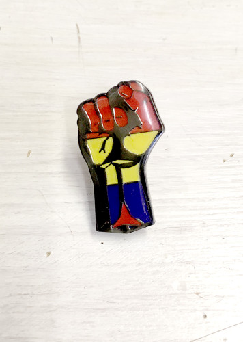 Spanish Republic (International Brigade) Fist Badge