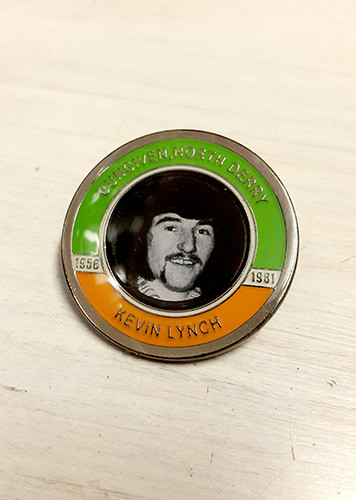 Kevin Lynch Hunger Striker Commemorative Badge