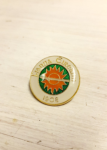 Fianna Eireann 1908 Enamel Badge