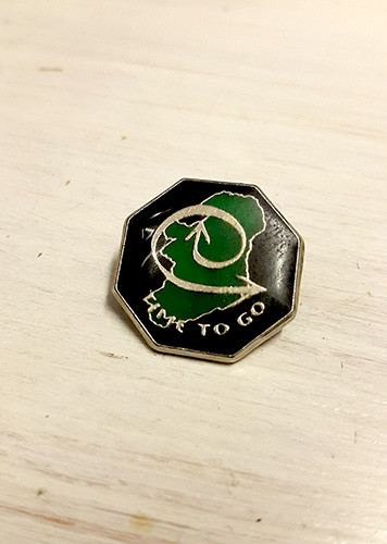 Time To Go (Troops) Enamel Badge