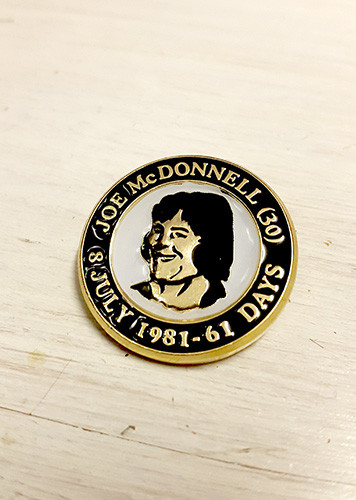 Joe McDonnell (61 Days) Commemorative Badge