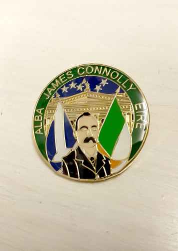 James Connolly ALBA EIRE Badge
