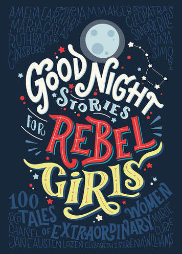 Good Night Stories for Rebel Girls - Elena Favilli