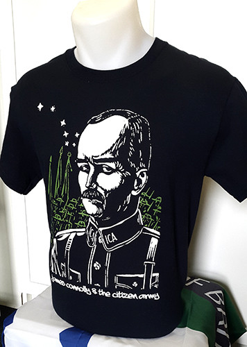 James Connolly and the Citizen Army T-shirt