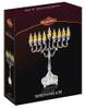 Hanukkah Menorah - Silver Plated