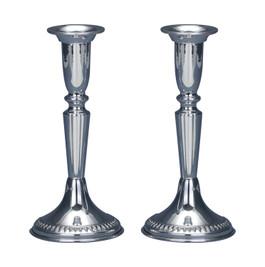 925 Sterling Silver Shabbat Filigree Candlesticks