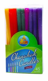 Multi-Color Chanukah Candles