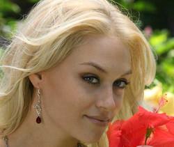 Hawaiian Hibiscus Fairy Earrings with Gemstones