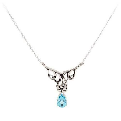 Pendant Gemstone Necklace