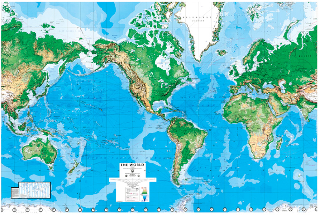 Delightful World Mural Wall Map: Laminated World Mural Wall Map: Laminated ...