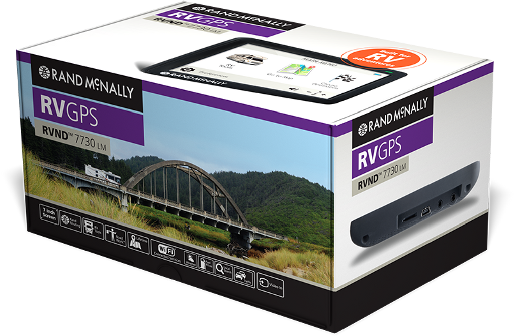 RVND™ 7730 LM GPS Device