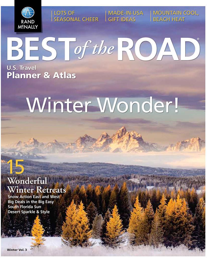 Best of the Road  U.S. Travel Planner & Atlas Winter Edition