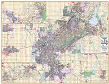 Thomas Bros. Sacramento Wall Map