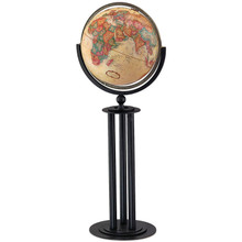 """Forum Antique Oceans 16"""" Floor Globe"""