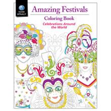 Amazing Festivals Coloring Book