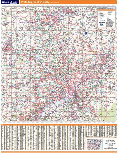 ProSeries Wall Map: Philadelphia Regional
