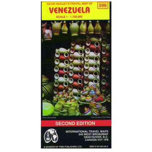 Venezuela: International Travel Maps