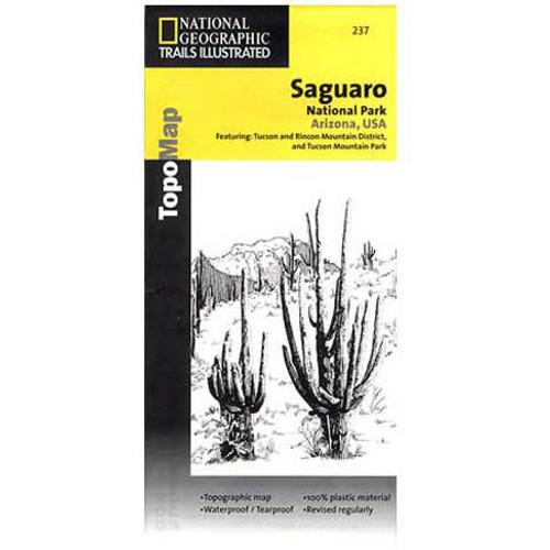 National Geographic Trails Illustrated Map 237: Arizona - Saguaro National Park