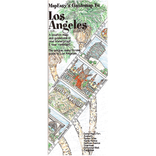 MapEasy's Guidemap: Los Angeles