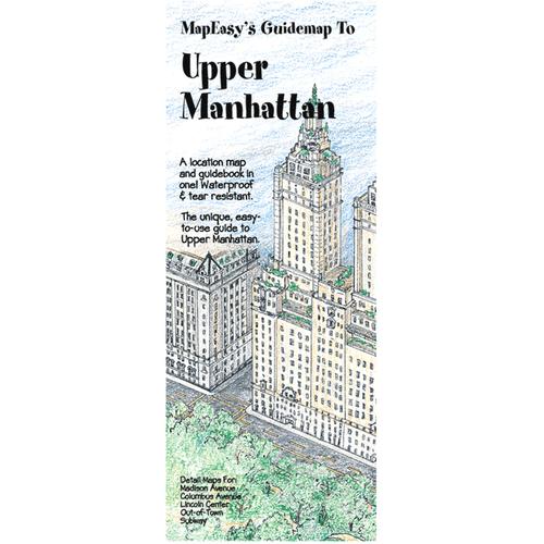 MapEasy's Guidemap: Upper Manhattan