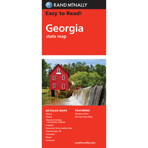 Easy To Read: Georgia State Map