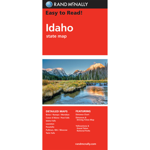 Easy To Read: Idaho State Map