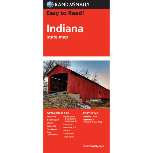 Easy To Read: Indiana State Map
