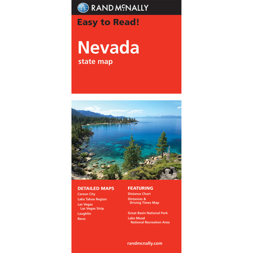 Easy To Read: Nevada State Map