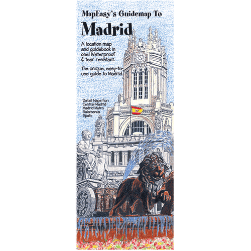 MapEasy's Guidemap: Madrid