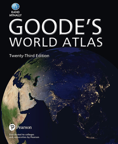 Goode's World Atlas 23rd Edition (Paperback)